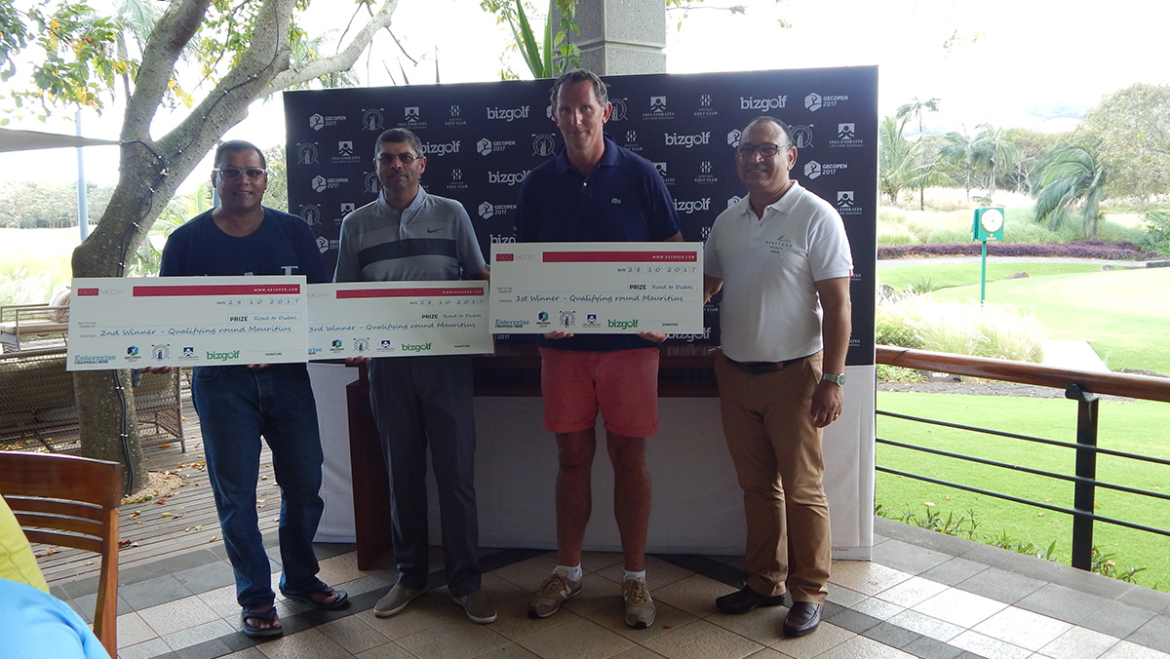 GEC Open engages Mauritius Golf community with maiden event