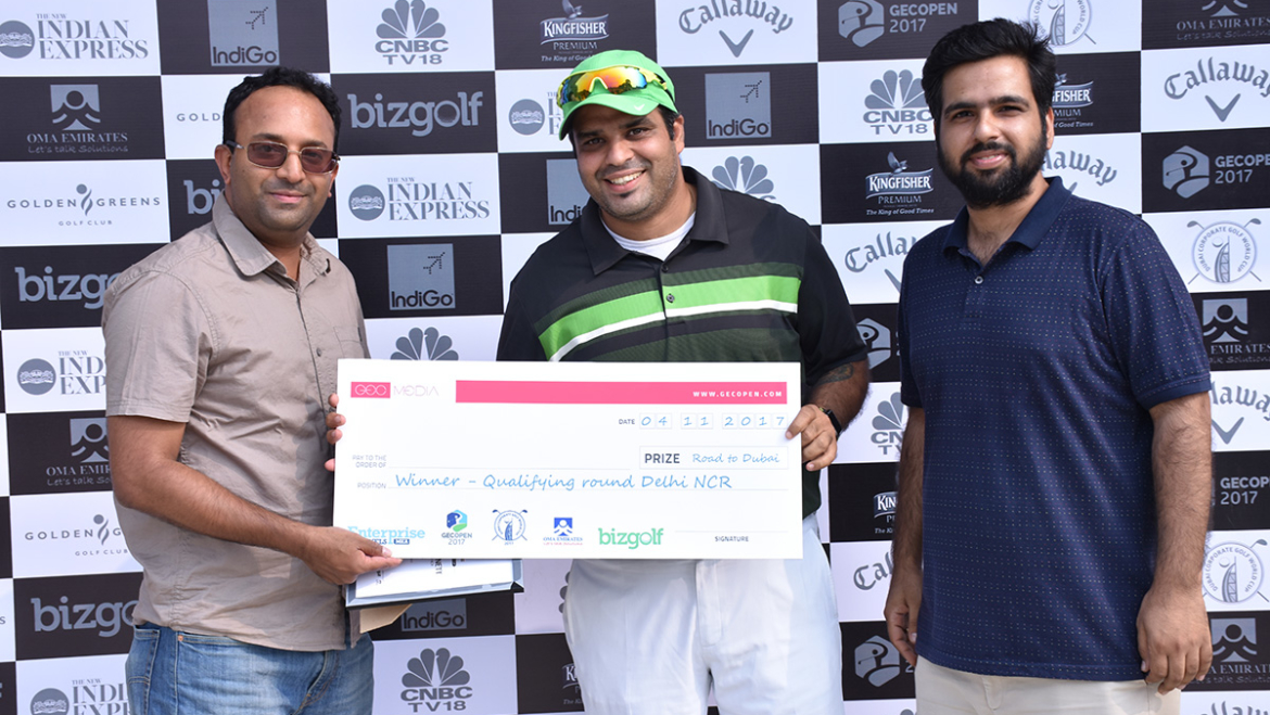 5-city Indian swing of GEC Open kicks off with qualifying round in Golden Greens