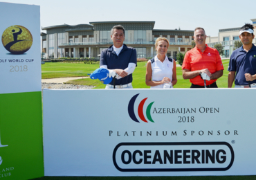 Industry stakeholders compete on the green at GEC Open Azerbaijan
