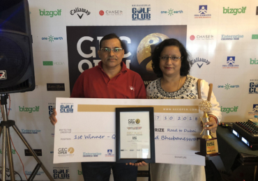 Bhubaneswar Golfing community enjoys weekend golf at GEC Open encore